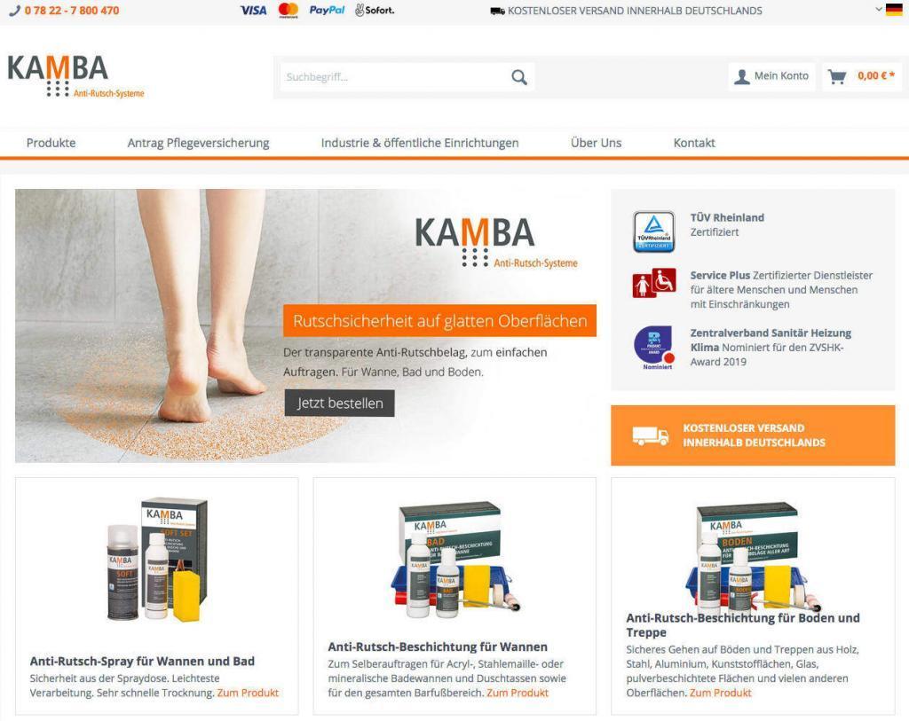 Kamba Antirutsch Shop