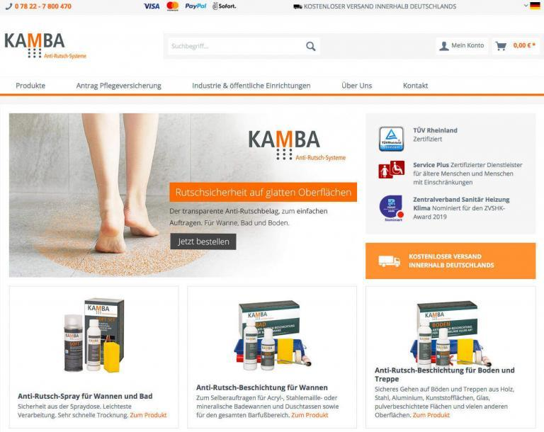 Kamba Antirutsch Shop