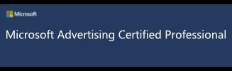 Bing-Ads Zertifizierung