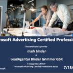 Zertifizierung Microsoft