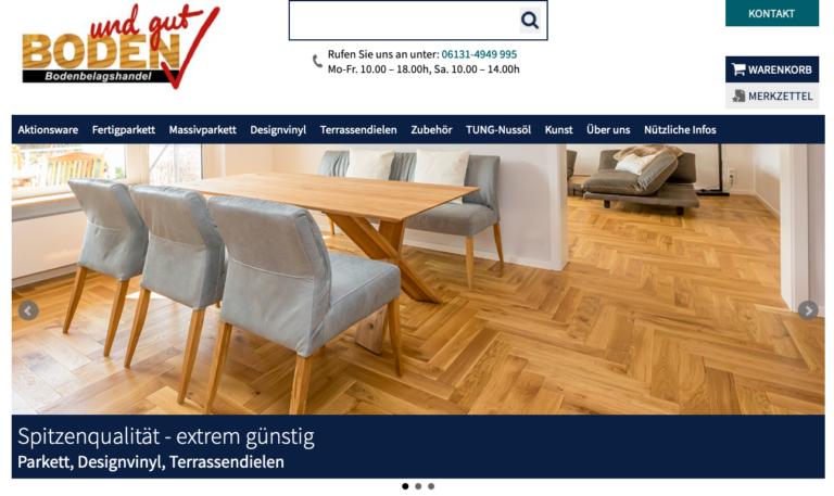 Boden+Gut Screenshot